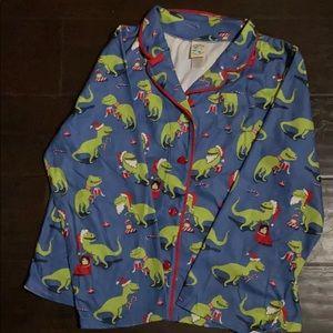 Dinosaur pajama holiday set